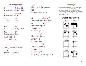 Ukulele Songbook - 4 Chords Example