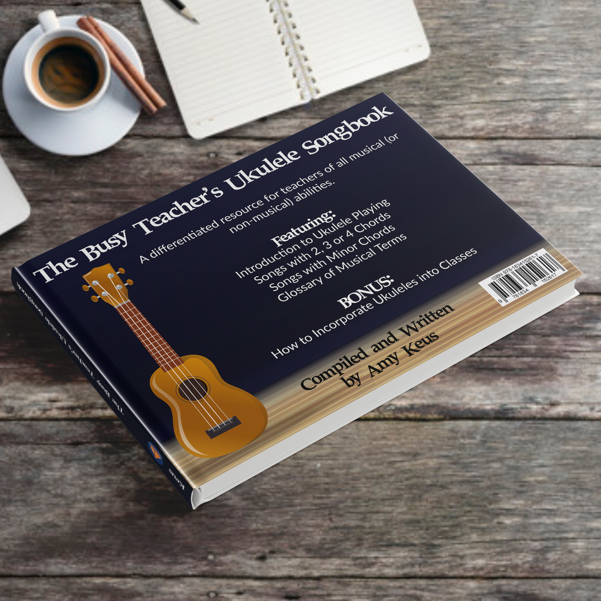 Ukulele Songhbook – Mockup