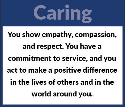 Learner Profile - Caring Definition