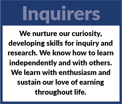 Learner Profile - Inquirers Definition